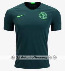 2018 World cup Nigeria away futebol camisetas de futbol 2018 PERSONALIZED