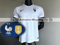 2d37dbb0521 2 Star 2018 France world cup champions away soccer jersey