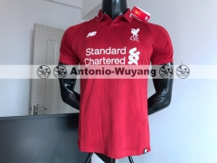 Liverpool 18/19 Home red soccer Jersey