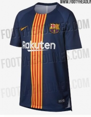2018 -19 Barcelona training suit soccer jersey
