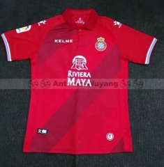 18-19 Espanyol away red soccer jersey
