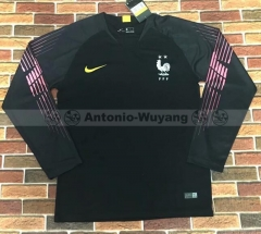 2018 France black long sleeve Goalkeeper soccer jersey world cup champions
