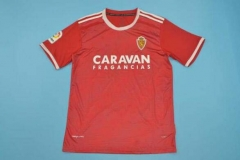 18-19 Real Zaragoza RED soccer jersey