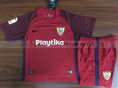18-19 Sevilla fc away kids youths childs RED soccer jersey