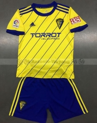 18-19 Cadiz C.F home kids childs youths soccer jersey