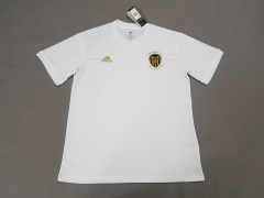 11-12 Valencia home white adult soccer jersey