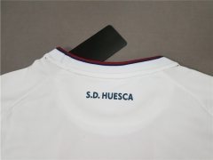 18 19 Huesca away white soccer jersey adult
