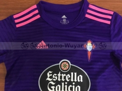 18 19 Celta de vigo Celta kids youths childs away purple soccer jersey