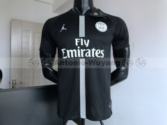 18-19 Paris Saint-Germain black Jordan soccer jersey