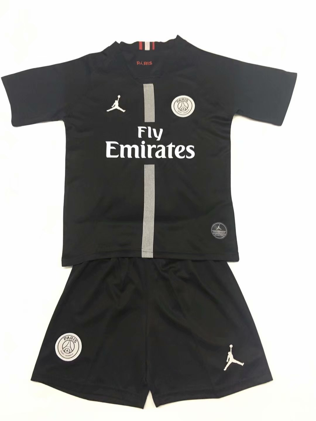 18-19 Paris Saint Germain PSG third champions league kids jersey