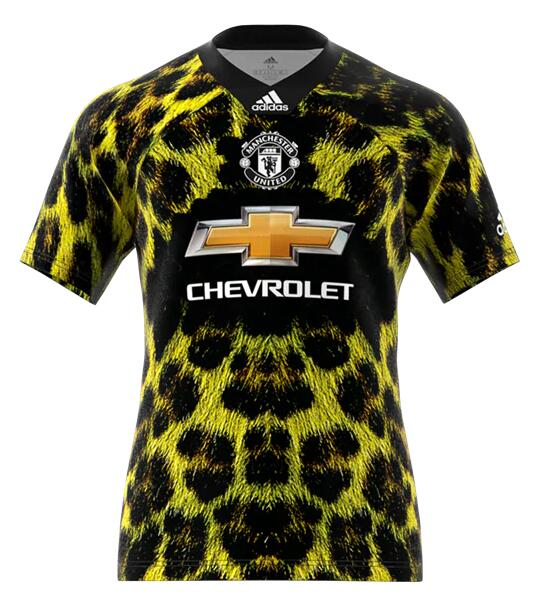 TOP 2018 EA Sports digital INSANE Manchester United  SOCCER JERSEYS  SPECIAL Galaxy version 4th Jersey