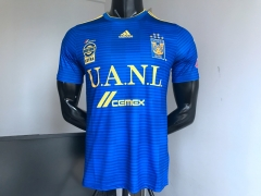 New TIGRES UANL jersey 2018-2019 away blue VARGAS GIGNAC futebol camisetas de futbol 18-19 PERSONALIZED