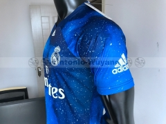 TOP 2018 EA Sports digital INSANE Real madrid  SOCCER JERSEYS  SPECIAL Galaxy version 4th Jersey