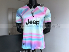 TOP 2018 EA Sports digital INSANE Juventus SOCCER JERSEYS  SPECIAL Galaxy version 4th Jersey