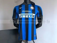 2010 Inter milan home Retro Vintage version soccer jersey