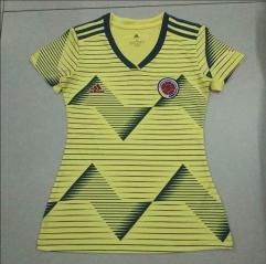 2019 Colombia women home jersey