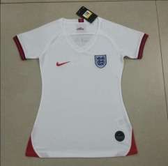 2019 England home white women jersey
