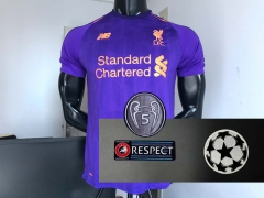 18 19 Liverpool Away 2018 2019 UCL Champions league Soccer Jersey