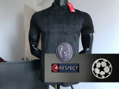 18 19 Liverpool Limited Edition Black Football Jersey 2018 2019 UCL Champions league