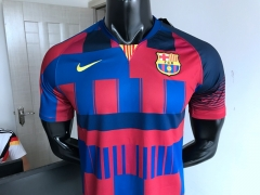 18 19 Barcelona Mash-up mashup 2018 2019 Soccer Jersey