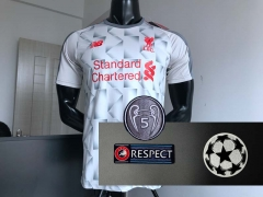 18 19 Liverpool Third 2018 2019 UCL Champions league Soccer Jersey