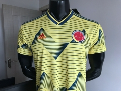 19 20 Colombia 2019 2020 Home Soccer jersey