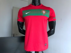 2010 2011  Portugal World cup Home Soccer jersey