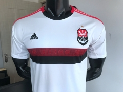 19 20 Flamengo 2019 2020 away white soccer jersey