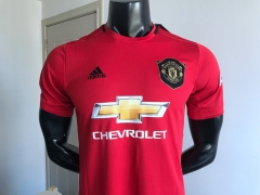 2019 2020 Manchester United home Soccer Jersey 19 20 Football Shirt