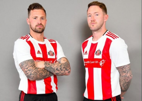 2019 2020 Sunderland home Soccer football Jersey 19 20