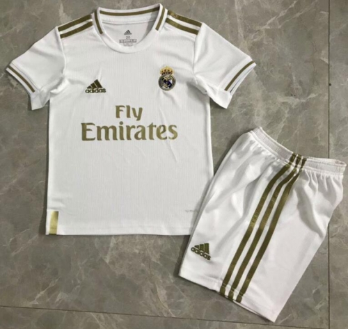 2019 2020 Real madrid kids Childs home Soccer football Jersey 19 20