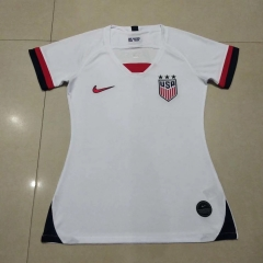 2019 2020 USA United States World cup  home white Women jerseys