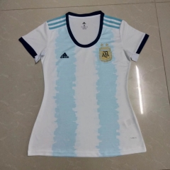 2019 2020 Argentina home world cup white Women jerseys