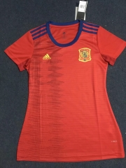 2019 2020 Spain home world cup red Women jerseys