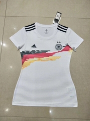 2019 2020 Germany home world cup white Women jerseys