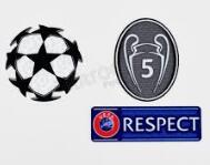 CHAMPIONS BALL+ RESPECT PATCH + CHAMPIONS 5