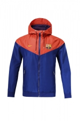 2019 2020 Barcelona Royal blue windbreaker training wear