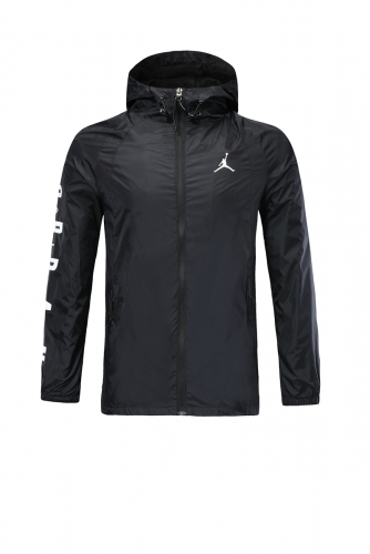2019 2020  Jordan Black windbreaker training wear