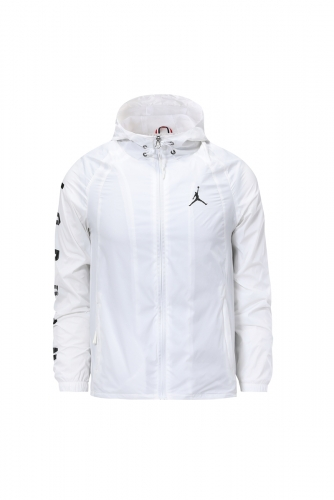 2019 2020  Jordan white windbreaker training wear