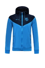 2019 2020 Barcelona blue/black 19 20 Soccer Windbreaker Raincoat