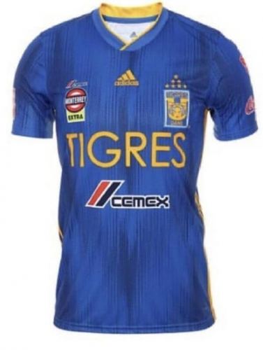 2019 2020 Tigres UANL away blue 19 20 Shirt Soccer Football shirts jersey