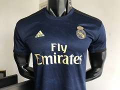 2019 2020 Real madrid Royal blue away 19 20 Shirt Soccer Football shirts jersey