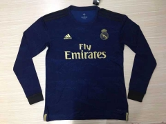 2019 2020 Real Madrid away Long Sleeve Shirt Soccer Football shirts jersey
