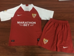 2019 2020 Seville away red kids child Football Soccer Jersey shirts