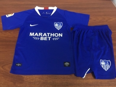 2019 2020 Seville Third blue kids child Football Soccer Jersey shirts