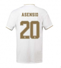 2019 2020 Real Madrid Home white ASENSIO  20 Football Soccer Jersey shirts