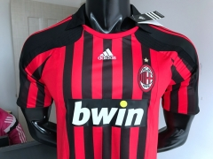2007 2008 Ac Milan home retro Soccer Jersey Football shirts