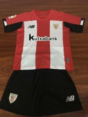 19-20 Athletic Bilbao home kids Shirt 2019 2020 Soccer Jerseys Football Shirt