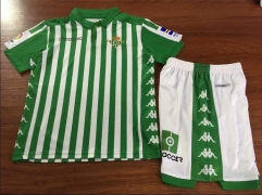 19-20 Real Betis home kids Shirt 2019 2020 Soccer Jerseys Football Shirt