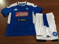 2019 2020 Naples SSC Napoli KIDS 19 20 Home Football Soccer Jersey